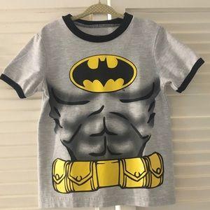 Toddler Boy's Batman Short Sleeve T-Shirt - Sz. 4T